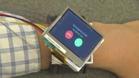 Motorized Orbital Smartwatches