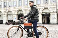Fashionable Cyclist Bags - The Escuro Premium Bicycle Bags Carry Shopping, Work Essentials and More