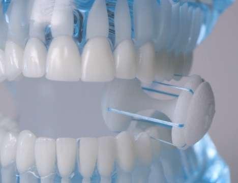 Hands-Free Teeth Flossers