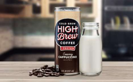 Protein-Enriched Cold Coffees