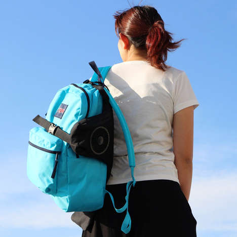 Body-Cooling Backpack Devices