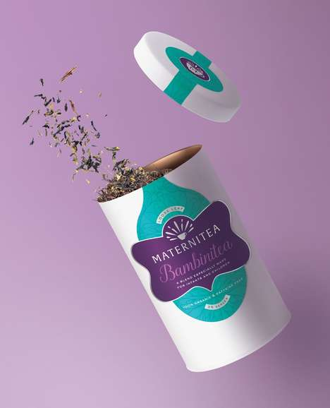 Comforting Pregnancy Teas - 'Maternitea' Specializes in Making Maternity Tea for Expectant Mothers