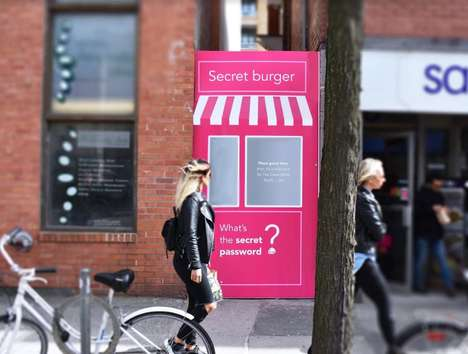 Secret Celebratory Burgers - A foodora Burger's Priest Pop-Up Hit Toronto, Montreal and Vancouver