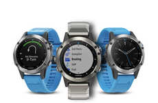 Precision Oceanic Smartwatches - The Garmin Quatix 5 Smartwatch Tracks Boat Speed, Depth and More