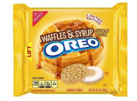 Breakfast Dish Cookie Flavors