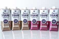 Hydrating Alkaline Teas - The TISANE TEAS Alkaline Teas are Ready-to-Drink and Organic