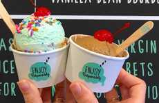 Booze-Infused Ice Cream - Tipsy Scoop Has Opened a Boozy Ice Cream 'Barlour' in NYC