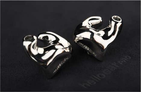 Custom-Molded Earbuds