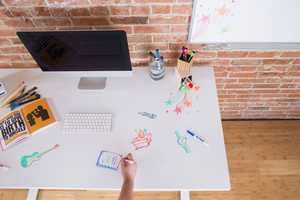 Whiteboard Desk Tops