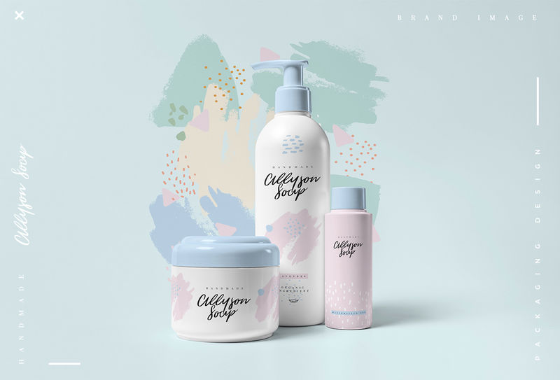 Feminine Cosmetics Packaging