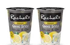 Citrusy Gin Yogurts - Rachel's Launched a Special-Edition Lemon & Gin Yogurt Flavor