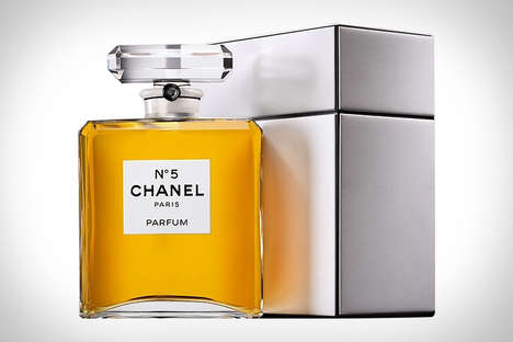 Oversized Premium Perfumes - The Chanel No. 5 Parfum Grand Extrait Offers 7.6 Ounces of Fragrance