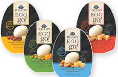 Egg Snack Packs - These Protein-Rich 'READY EGG go!' Snacks Pair Eggs with Nuts and Cheese