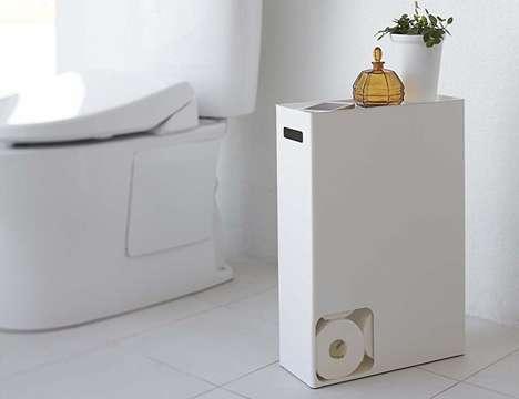 Discreet Toilet Paper Dispensers