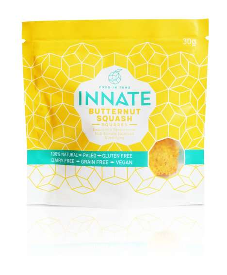 Dehydrated Vegetable Crisps - INNATE Foods' Vibrant Vegetable Snacks Encourage Healthy Snacking