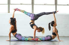 Artist-Designed Yoga Pants