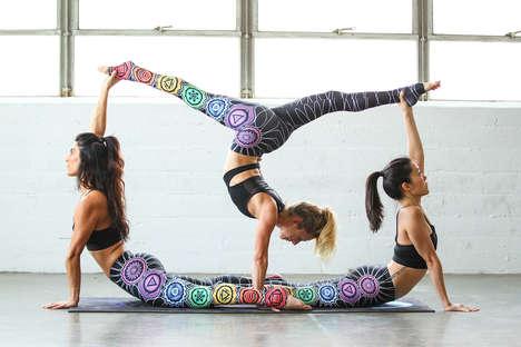 Artist-Designed Yoga Pants