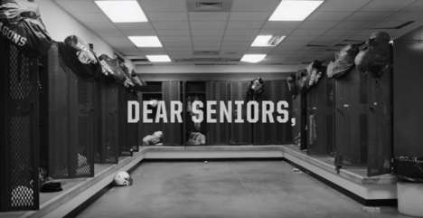 Honest Student Athlete Ads - Russell Athletic's 'Dear Seniors' Ad Address High School Athletes