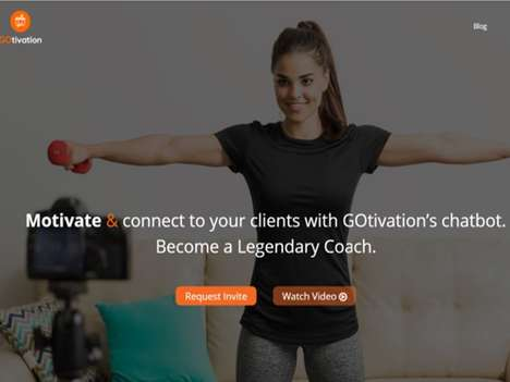 Motivational Fitness Chatbots - The 'GOtivation' Chatbot Offers Fitness Workout Motivation