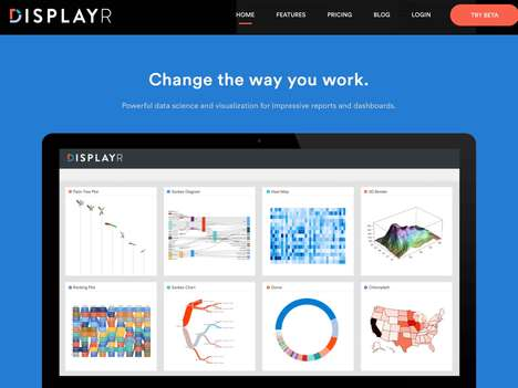 Scientific Data Visualization Solutions - The 'Displayr' Data Science Platform is Impressive