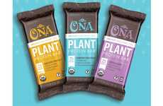 Probiotic-Packed Plant Protein Bars - The Ona Treats Organic Functional Fuel Bars are USDA Organic