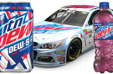 Patriotic Triple-Flavor Sodas - The Mtn Dew DEW-S-A Contains Three of the Brand's Flavors