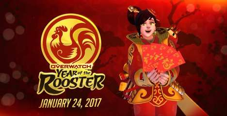 Festive Video Game Skins - Overwatch Gave One of Its Characters a New Skin for Chinese New Year