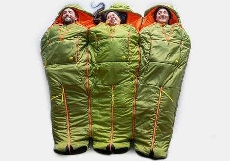 Linking Camper Sleeping Bags