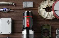 Capsule Espresso Makers - The Barsetto 'Tripresso' Portable Espresso Coffee Maker is Convenient