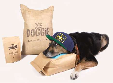Flexible Dog Food Deliveries - 'Ya Doggie' Offers a Monthly Dog Food Subscription