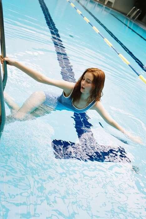 Vacation-Inspired Swimwear Lookbooks
