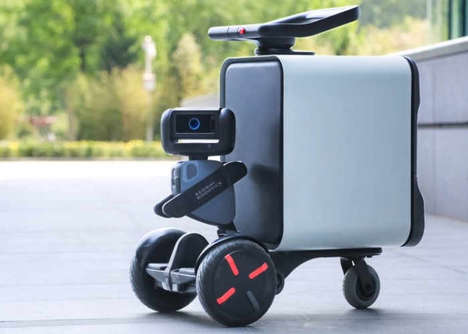 Autonomous Delivery Robots - The Segway 'Loomo Go' is a Robot for Delivery of Goods