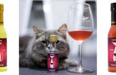 Feline Wine Brands - Pet Winery Offers Faux Wines for People's Pets