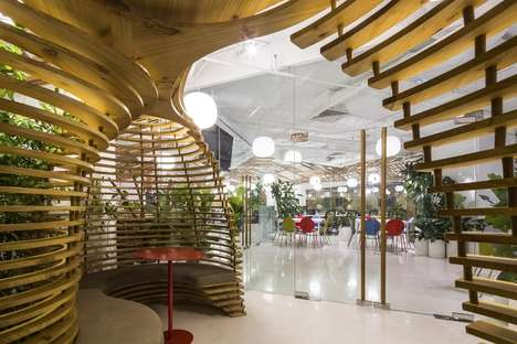 Village-Themed Office Spaces - The Purpose Group's Office Was Inspired by Communal Collaboration