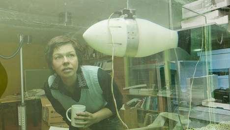 Ocean-Saving Robotic Fish