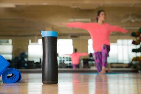 Hydration-Monitoring Bottles