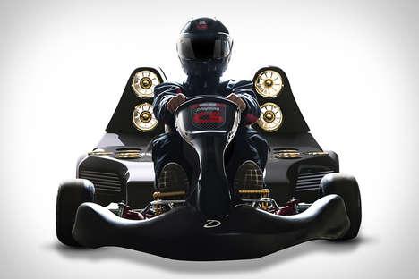 Lightweight Electric Racing Go-Karts