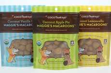 Dog-Friendly Coconut Macaroons - CocoTherapy's Raw Dog Treats are Made with Coconut and Coconut Oil