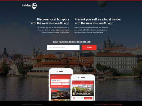 Local Travel Insider Apps - 'Insiders4U' is a New Travel App to Connect with Local Insiders