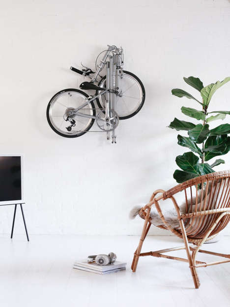 City-Inspired Folding Bicycles
