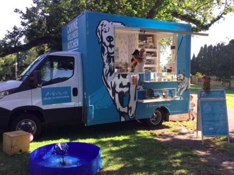 Healthy Dog Food Trucks - The Canine Wellness Kitchen Serves Treats and Refreshing 'Pooch Pints'