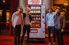 Merch-Selling Vending Machines - The Phoenix Vending Machine Makes Selling Tour Merch Simpler