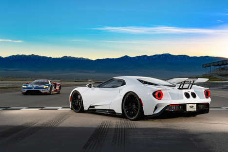 Aggressive American Supercars - The 2017 Ford GT Offers Exotic, High-Tech Features