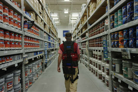 Warehouse Worker Exoskeletons - Lowe's Provides Non-Motorized, Wearable Exoskeletons to Employees