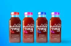 Hybrid Chocolate Milks - 'Shokolate Queen' is an Organic Chocolate Milk Concept