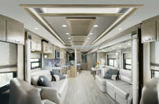 Spacious Luxury Motor Coaches - The 2017 Newmar King Aire is a High Class Touring Rig