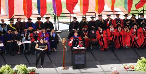 The Value of Support - Arnold Schwarzenegger Considers Role Models in His UH Commencement Speech
