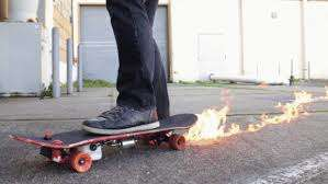 DIY Flame-Throwing Skateboards
