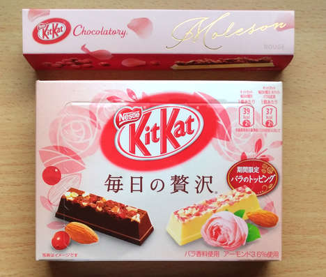 Limited-Edition Rose Chocolates