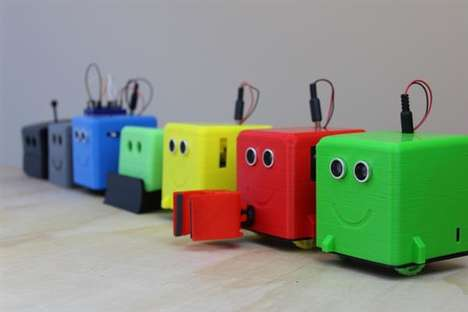3D-Printed Programming Bots - 'LittleBot' is a Smart Classroom Robot for Hands-On STEM Education
